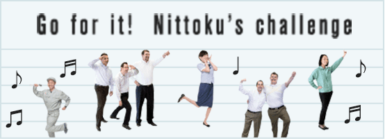 Go for it! Nittoku's challenge